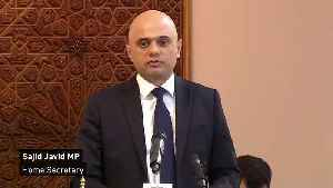 Javid speech at Central London Mosque solidarity event [Video]