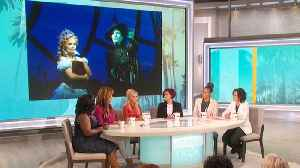 The Talk - Kristin Chenoweth on Who She'd Cast in 'Wicked' and Collaborating with Ariana Grande [Video]
