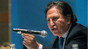 Peruvian Ex-President Arrested For Being Drunk In Public In California [Video]