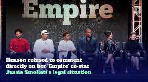 Taraji P. Henson Says 'Empire' Atmosphere is 'Great' Amid Jussie Smollett Case [Video]