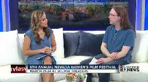 Film critic, Josh Bell, talks about Nevada Women's Film Festival [Video]