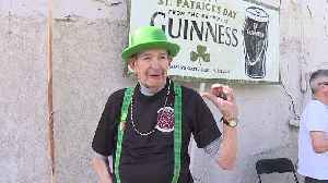 Boise Firefighters Pipes & Drums names honorary member on Saint Patrick's Day [Video]