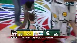 Michigan State beats Michigan for third time this season, wins Big Ten title [Video]