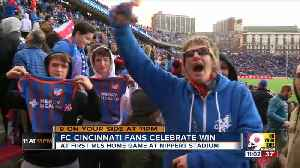 FC Cincinnati fan: 'You couldn't hear yourself think in that crowd' [Video]