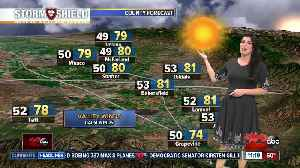 Sunshine and warm weather continues before mid-week rain [Video]