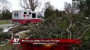 Red Cross continues to help those impacted by tornadoes [Video]