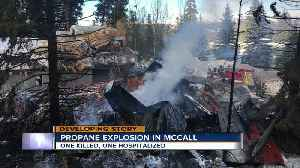 """""""It felt like we were getting nuked,"""" Witnesses say a home is destroyed after McCall explosion [Video]"""