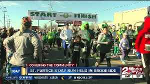 St. Patrick's Day run held on Brookside [Video]