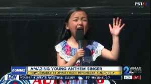 7-year-old anthem singer has killed it again [Video]