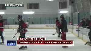 Racial taunting fallout: regional youth hockey president resigns [Video]