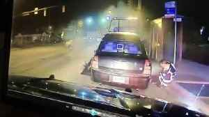 Dash cam video shows moment a driver slams into tow truck in Fairview Park [Video]