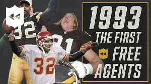 NFL Throwback: Reggie White and the first NFL free agency in 1993 [Video]