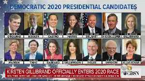 Crowded 2020 Presidential Race Has Most Dem. Candidates Since 1992 [Video]