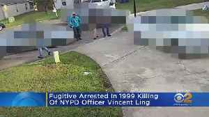 Fugitive Arrested In 1999 Killing Of NYPD Officer [Video]
