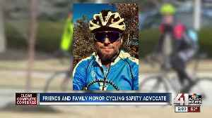 Cycling community rallies behind family of Olathe man who died during race [Video]
