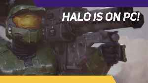 Halo is coming to PC! [Video]