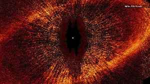 This Star Looks Eerily Like Lord of the Rings' Eye of Sauron [Video]