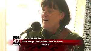Irish songs and poems fill up Old Town Lansing [Video]