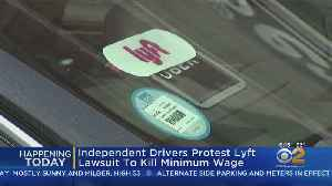 Drivers To Protest Lawsuit To Kill Minimum Wage [Video]