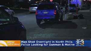 Man Shot Overnight In North Philadelphia [Video]