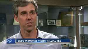 Beto O'Rourke visits Milwaukee four days after announcing presidential bid [Video]