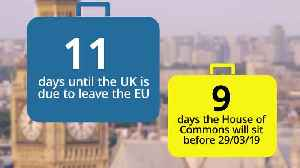 Countdown to Brexit: 11 days until Britain leaves the EU [Video]