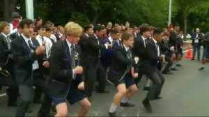 News video: New Zealand students perform Haka in tribute to shooting victims