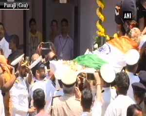 Goa CM Manohar Parrikar's mortal remains brought to Kala Academy [Video]