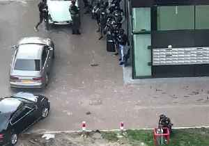 News video: Armed Police Respond to Bank in Utrecht in Hunt for Tram Shooting Suspect