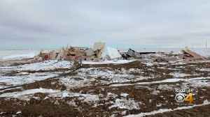 Family's Home Destroyed In Colorado Blizzard [Video]