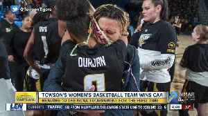 Towson women's basketball team clinches first ever NCAA Tournament berth [Video]