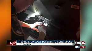 Traffic stop leads police to guns and drugs Fort Myers Beach [Video]