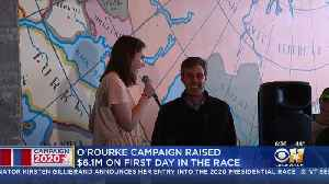 O'Rourke Raises More Than $6.M Raised Online [Video]