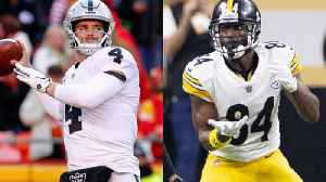 Will Oakland Raiders quarterback Derek Carr have his best season with wide receiver Antonio Brown? [Video]