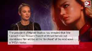 Brie Larson's Captain Marvel will lead 'entire' MCU says Kevin Feige [Video]