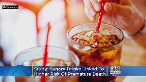 Sugary Drinks Linked To Higher Risk Of Premature Death, Especially For Women, Study Says [Video]