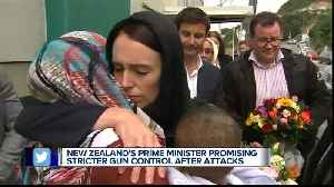 New Zealand's prime minister promising stricter gun control after attacks [Video]