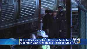 Man Struck, Killed By SEPTA Train In Delaware County [Video]