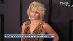 Paris Jackson Smiles on Date with Boyfriend in L.A. After Hospitalization [Video]