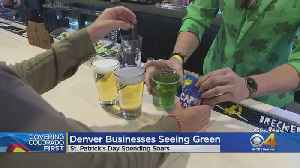 St. Patrick's Day Weekend Draws Big Business To Denver [Video]