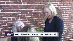 Sen. Kirstin Gillibrand visits Michigan [Video]