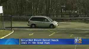 Long Island Bicyclist Dies In Hit-And-Run Crash [Video]