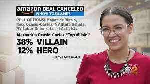 Alexandria Ocasio-Cortez Named 'Top Villain' In Amazon HQ Blame Game [Video]