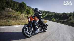 Production Harley-Davidson LiveWire Makes European Debut At EICMA [Video]
