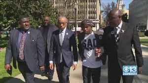 Rev. Al Sharpton Joins Stephon Clark's Family On One-Year Anniversary Of Shooting [Video]