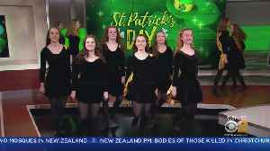Buckley School Of Irish Dance Celebrates St. Patrick's Day [Video]