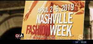 Out and About Today: Nashville Fashion Week 2019 p2 [Video]
