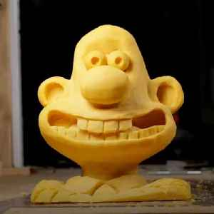 40-pound cheese block sculptures brought to life by stop-motion animator [Video]