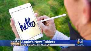 News video: Trending: Apple Unveils New iPad Air, iPad Mini