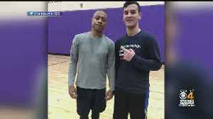 Isaiah Thomas Plays Pickup Basketball With Emerson Students Upon Return To Boston [Video]